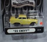 Chevrolet Bel-Air 55 gelb